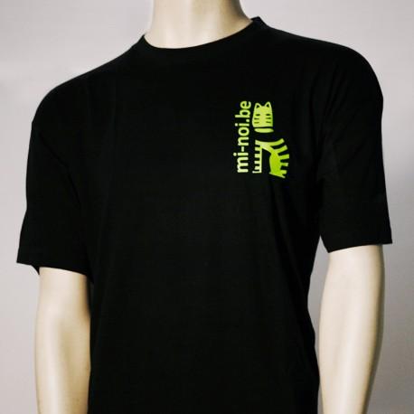T-shirt noir - logo vert