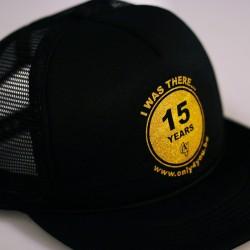 Casquette noir - logo 15 Years